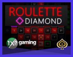 1x2 Gaming présente le jeu Roulette Diamond