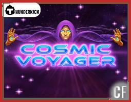 Aperçu de la nouvelle machine à sous Cosmic Voyager de Thunderkick