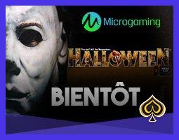 Bonus sans dépôt de Microgaming sur la machine à sous Halloween
