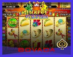Cagnotte de la machine à sous Jackpot Piñatas remportée sur Bovada