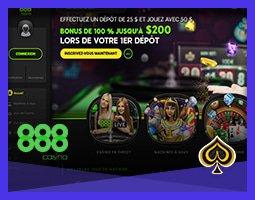 Le casino 888 lance une nouvelle plateforme en ligne