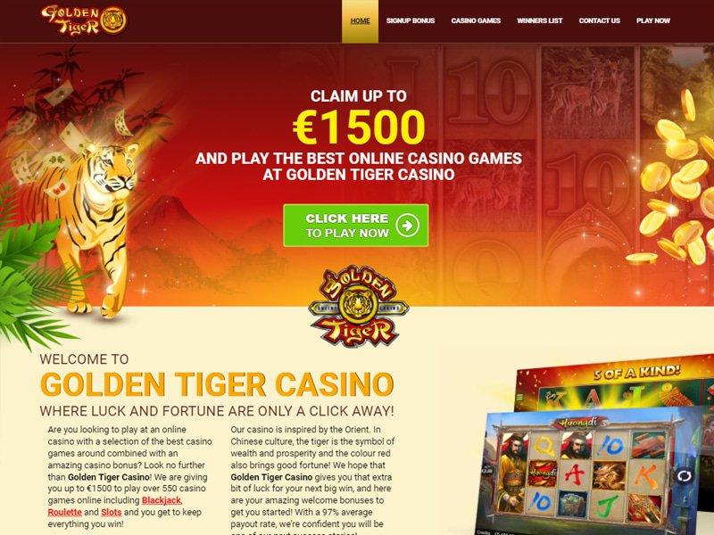 Casino Golden Tiger