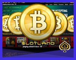 Casino Slotland Accepte Désormais Les Paiements Par Bitcoin