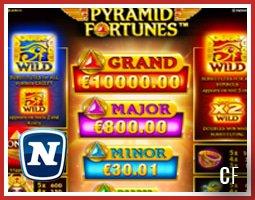 Découvrez la nouvelle machine à sous Pyramid Fortunes