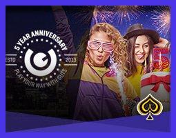 Gagnez 100 000 € pour le cinquième anniversaire de Guts Casino
