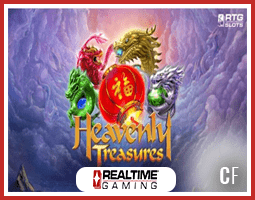 Heavenly Treasures : Nouvelle machine à sous des casinos RTG
