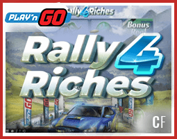 Le Jeu Rally 4 Riches déjà disponible sur les casinos Play'N Go
