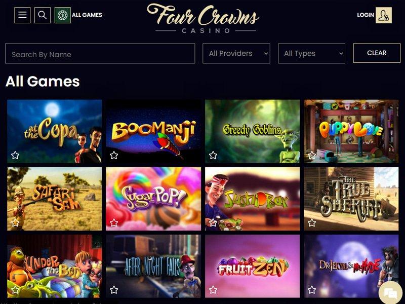jeux 4Crowns Casino