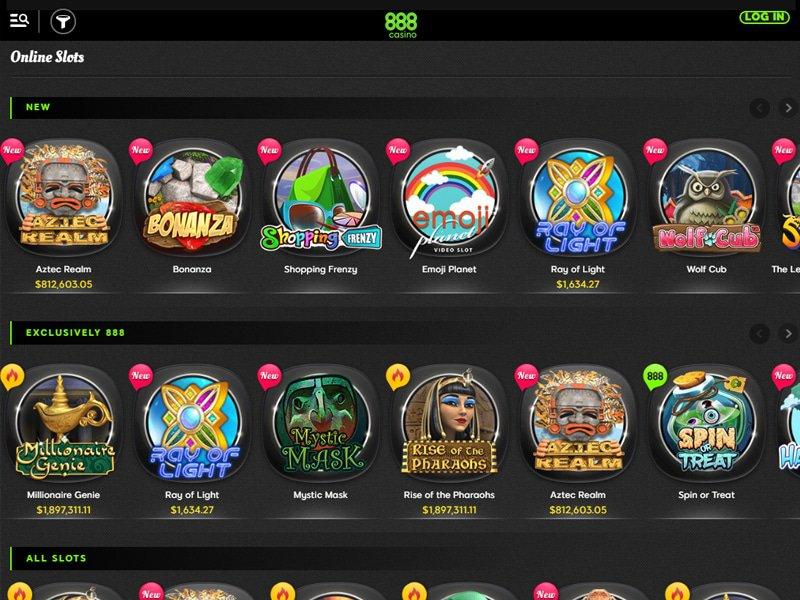 jeux 888 Casino