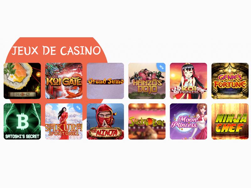 jeux Banzai Slots