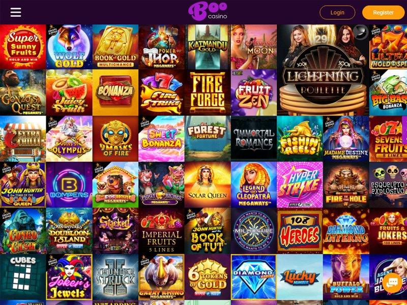 jeux Casino Boo
