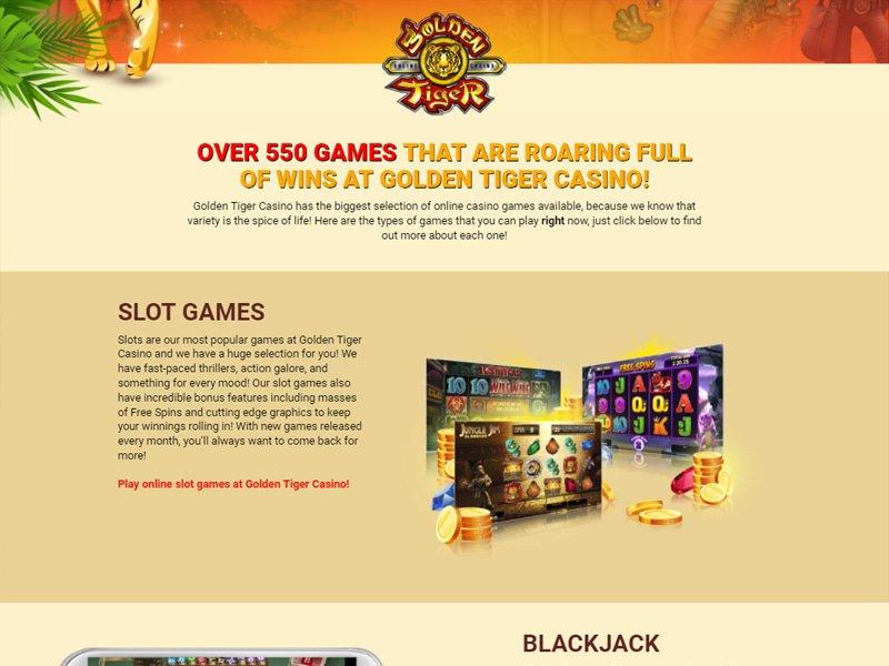 jeux Casino Golden Tiger