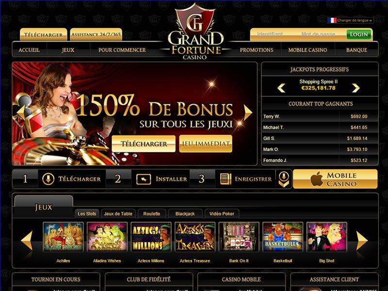 jeux Casino Grand Fortune