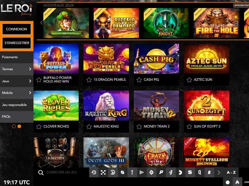 jeux Casino Le Roi Johnny