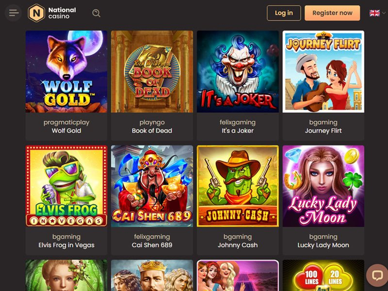 jeux Casino National