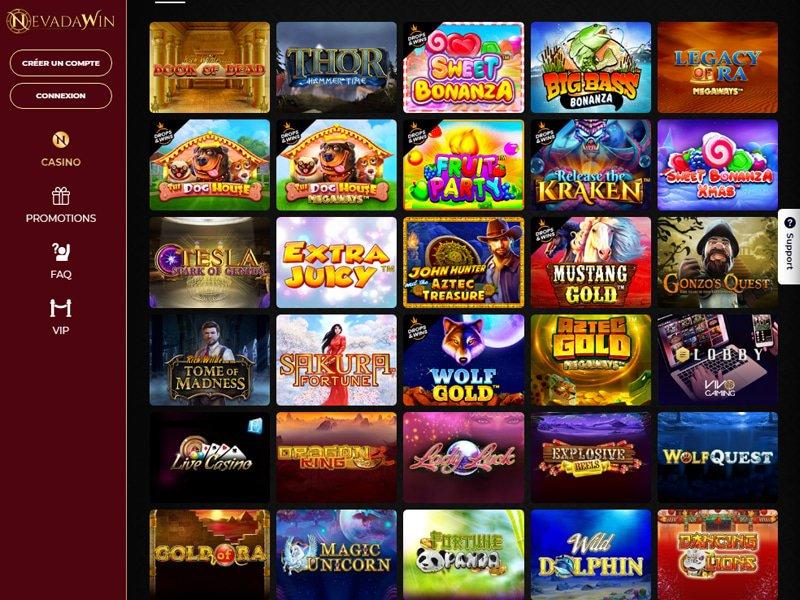 jeux Casino NevadaWin