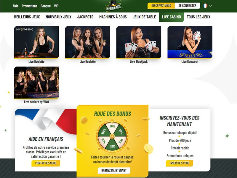 jeux Ma Chance Casino