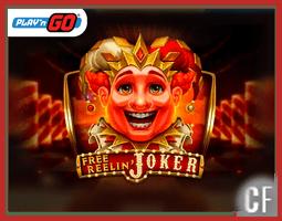 Nouvelle machine à sous Free Reelin Joker de Play'N Go