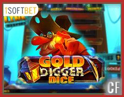 Nouvelle machine à sous Gold Digger Dice
