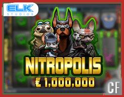 Machine à sous Nitropolis d'Elk Studios déjà disponible