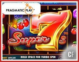 Machine à sous Super 7s bientôt sur les casinos Pragmatic Play