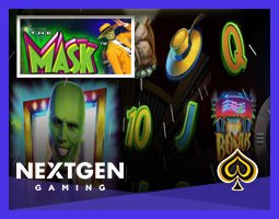 La machine à sous The Mask débarque sur les casinos NextGen Gaming