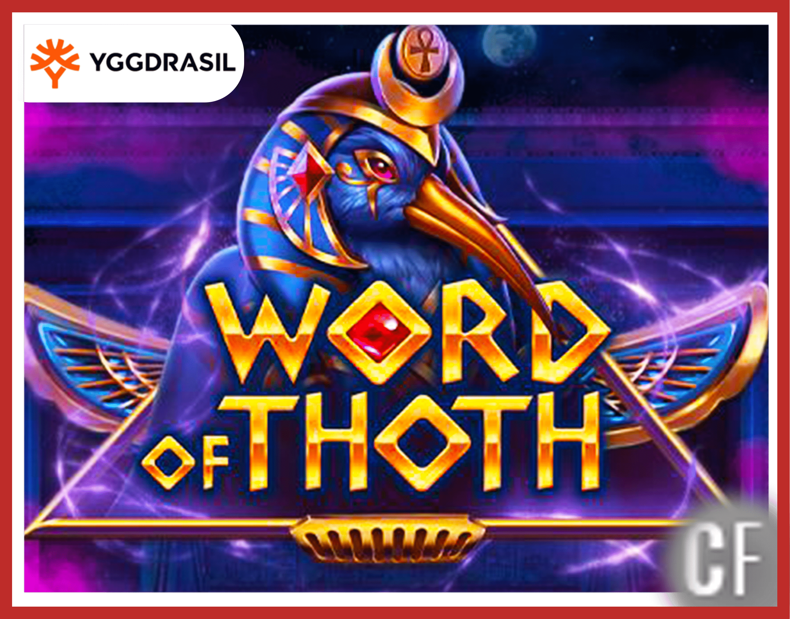 Nouvelle machine à sous Word of Thoth d'Yggdrasil