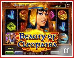 Nouvelle machine à sous Beauty Beauty Of Cleopatra