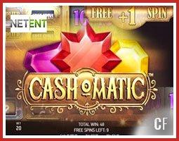 Nouvelle machine à sous Cashomatic de NetEnt