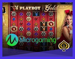 Microgaming lance en mars la nouvelle machine à sous Playboy Gold