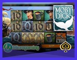 Machine à sous Moby Dick bientôt sur les casinos Microgaming