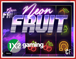 Neon Fruit : Nouvelle Machine À Sous De 1x2 Gaming