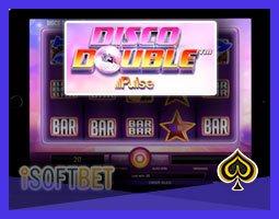 Nouvelle machine à sous Disco Double d'iSoftBet