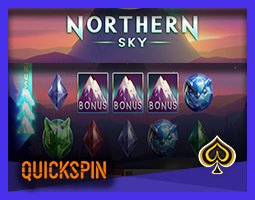 Nouveau jeu Northern Sky disponible sur les casinos Quickspin