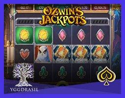 Nouveau jeu Ozwin's Jackpots disponible sur les casinos Yggdrasil