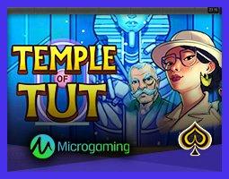 Nouveau jeu Temple of Tut de Microgaming bientôt disponible