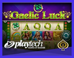 Nouvelle machine à sous Gaelic Luck de Playtech déjà disponible