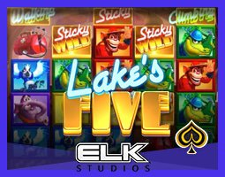 Nouvelle machine à sous Lake's Five sur les casinos Elk Studios