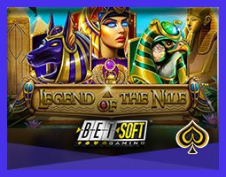 Nouvelle machine à sous Legend of the Nile de Betsoft