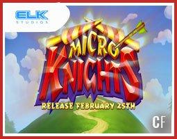 La nouvelle machine à sous Micro Knights de ELK Studios est dispo