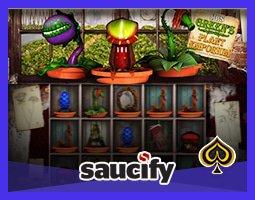 Nouvelle machine à sous Mrs Green's Plant Emporium de Saucify