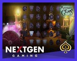 Nouvelle machine à sous Mysterious Gems lancée par Genesis Gaming