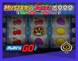 Nouvelle machine à sous Mystery Joker 6000 de Play'n Go