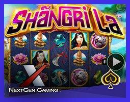 Nouvelle machine à sous Shangri La de NextGen
