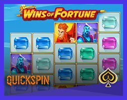 Nouvelle machine à sous Wins of Fortune de Quickspin lancée