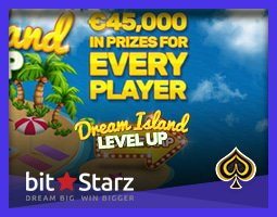 Nouvelle promotion Dream Island du casino BitStarz