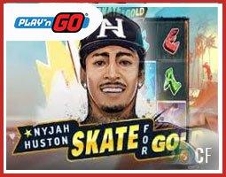 Nyjah Huston - Skate For Gold est lancé sur les casinos Play'n Go