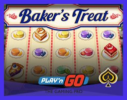 Play'n Go lance la machine à sous Baker's Treat