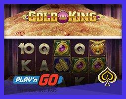 Play'n Go offre de gros prix sur son nouveau jeu Gold King