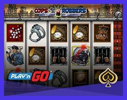 Play'n Go offre la machine à sous Cops 'n' Robbers